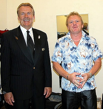 Pepe Lienhard mit Inside-Bandleader Horst Starzer
